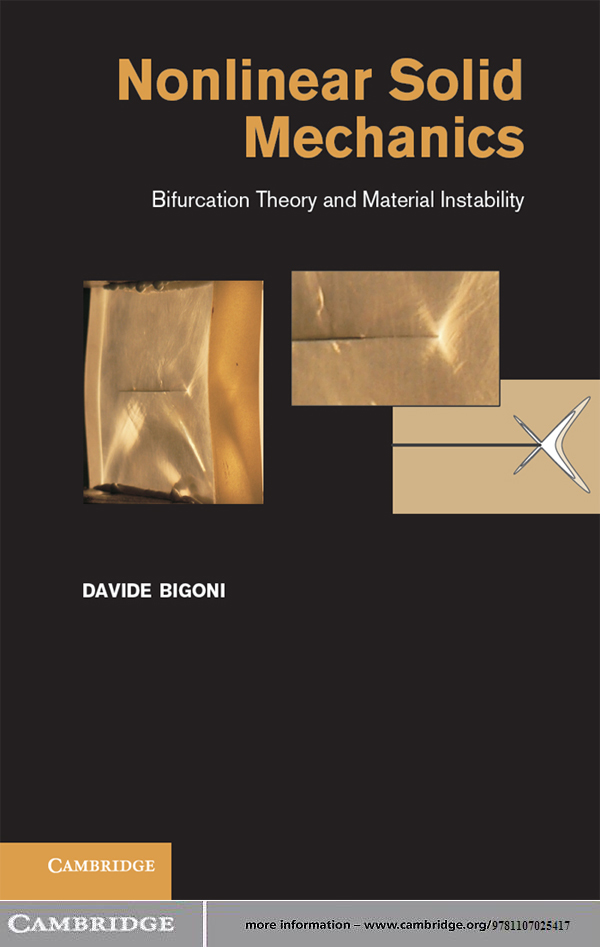 Nonlinear Solid Mechanics Bifurcation Theory and Material Instability