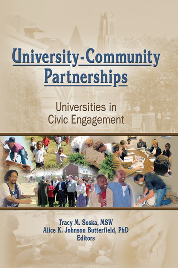 University-Community Partnerships Universities in Civic Engagement