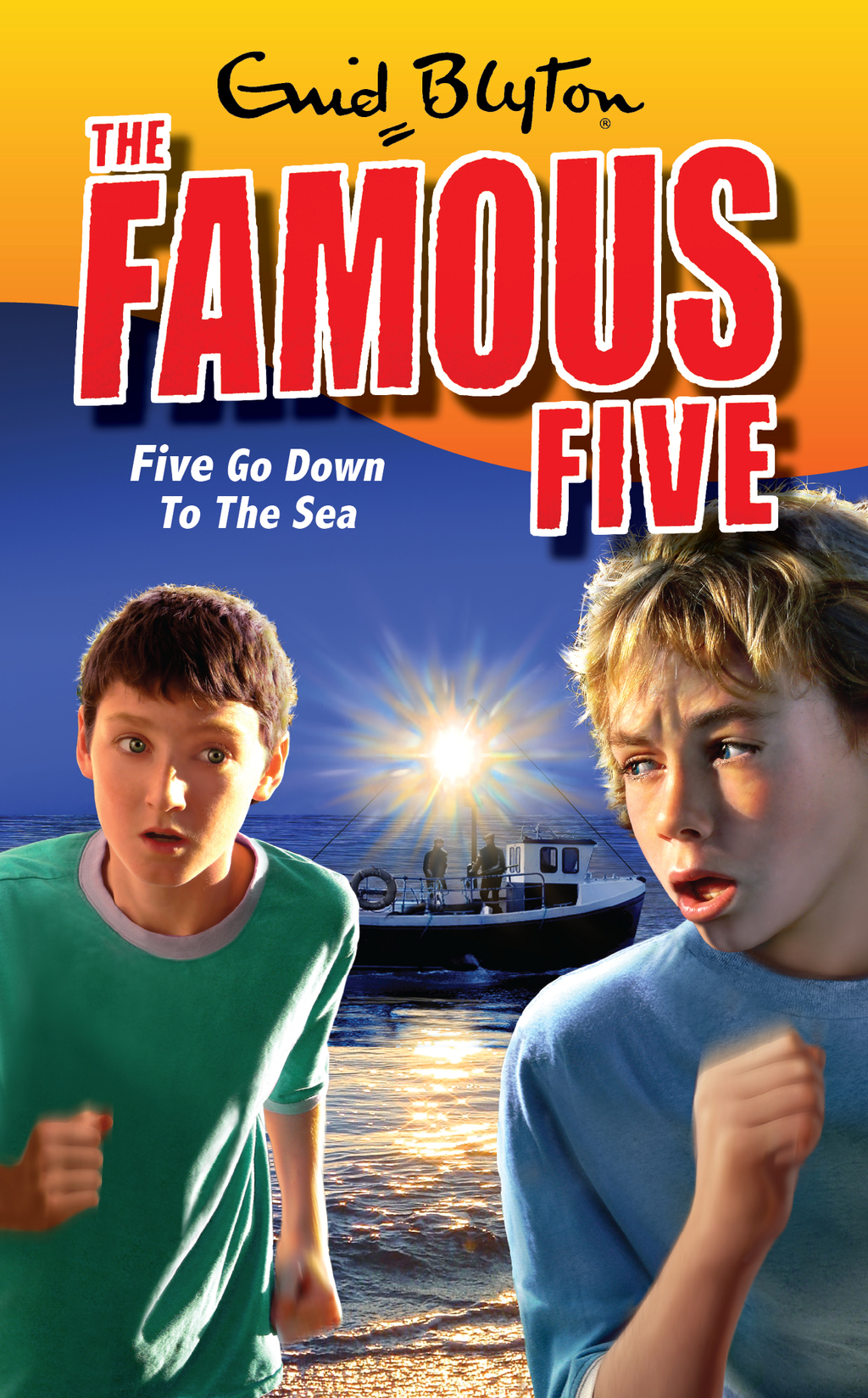 Famous Five 12: Five Go Down To The Sea