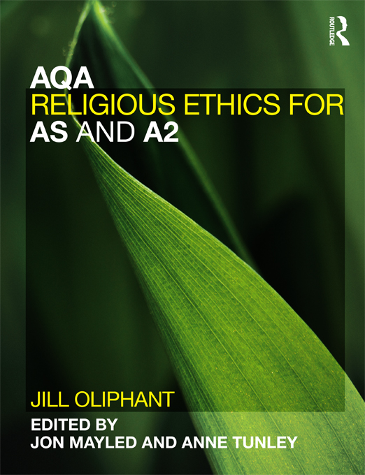 AQA Religious Ethics for AS and A2