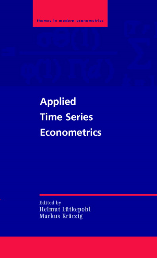 Applied Time Series Econometrics