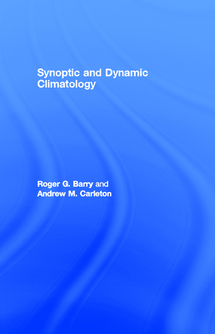 Synoptic and Dynamic Climatology