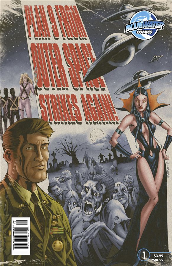 Plan 9 From Outer Space Strikes Again! #1 By: Darren G. Davis,Chad Helder,Giovanni Timpano,Alex Sollazzo,Johnny Lowe,Nate Watson