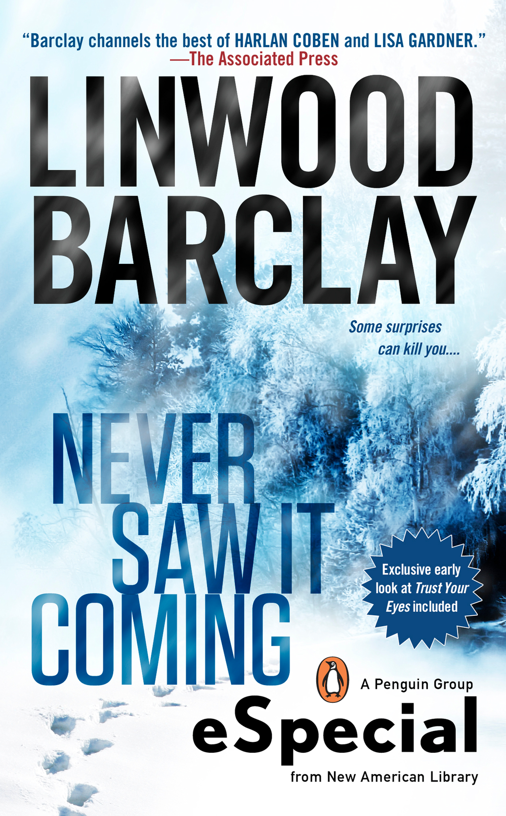 Never Saw It Coming By: Linwood Barclay
