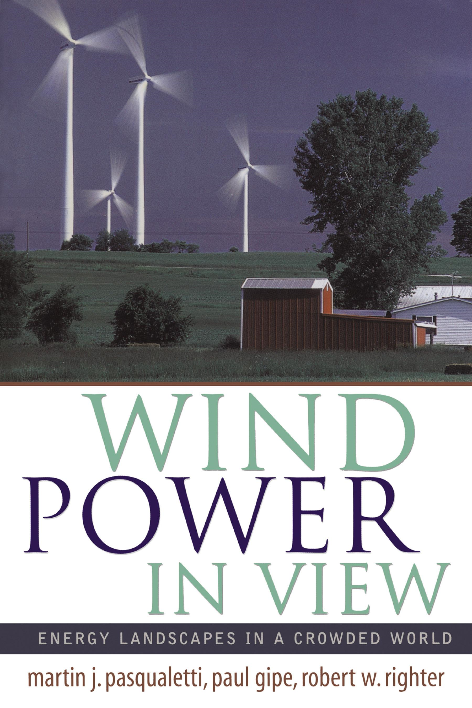 Wind Power in View: Energy Landscapes in a Crowded World