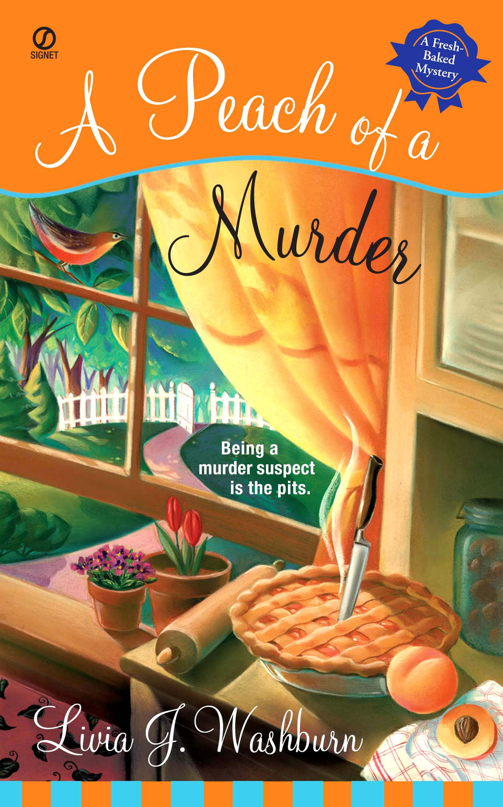 A Peach of a Murder: A Fresh-Baked Mystery By: Livia J. Washburn