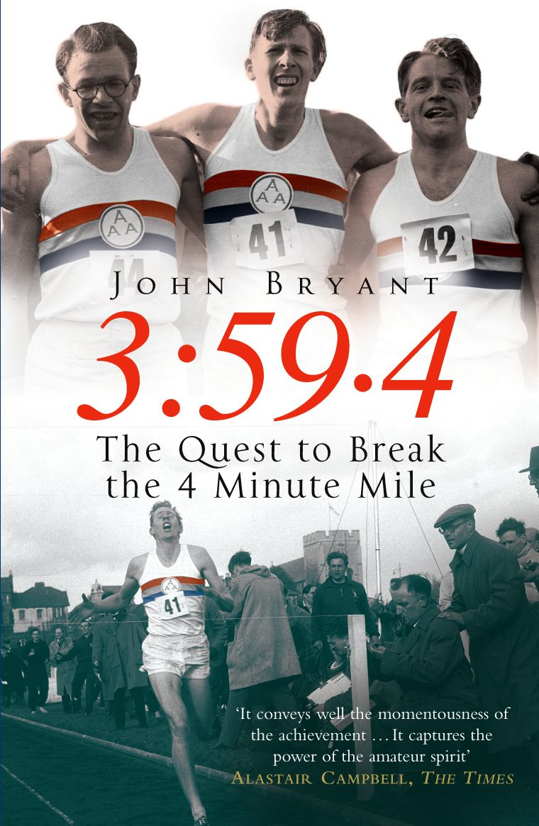 3:59.4 The Quest to Break the Four Minute Mile