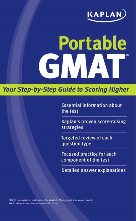 Kaplan Portable GMAT