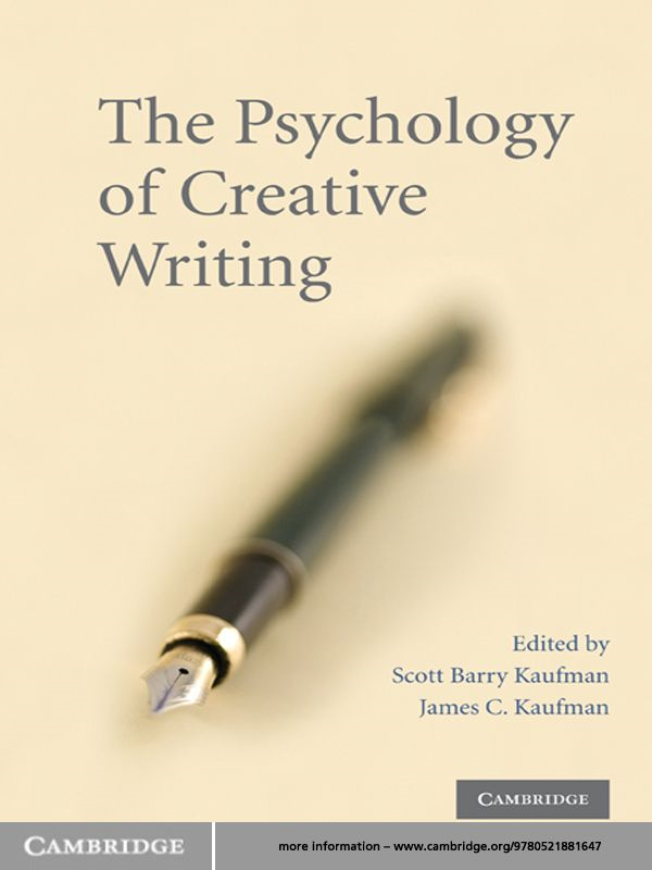 The Psychology of Creative Writing
