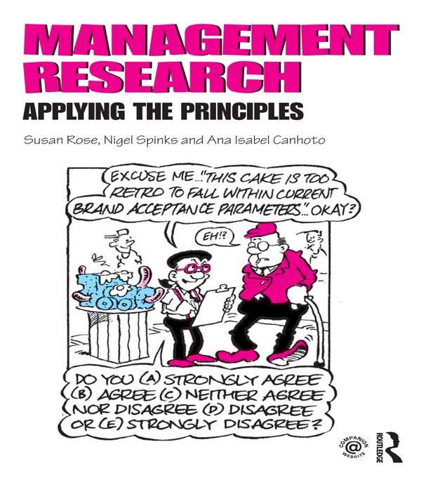 Management Research: Applying the Principles Applying the Principles