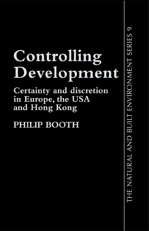 Controlling Development Certainty,  Discretion And Accountability
