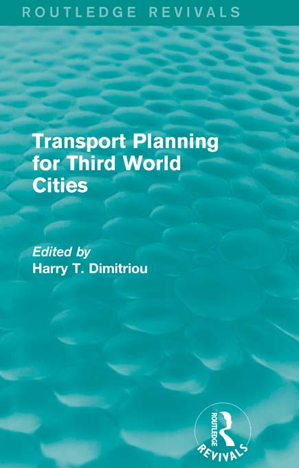 Transport Planning for Third World Cities