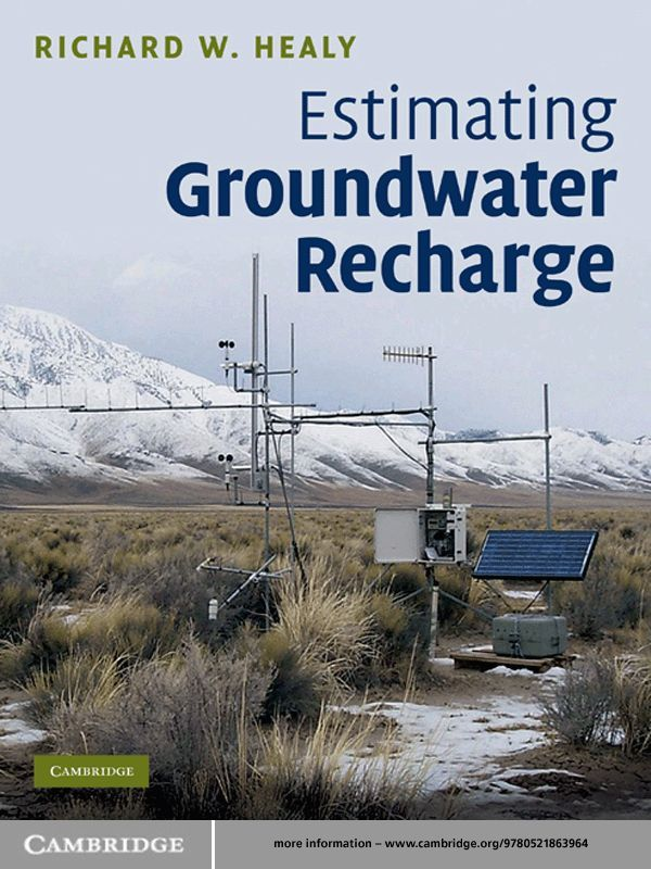 Estimating Groundwater Recharge
