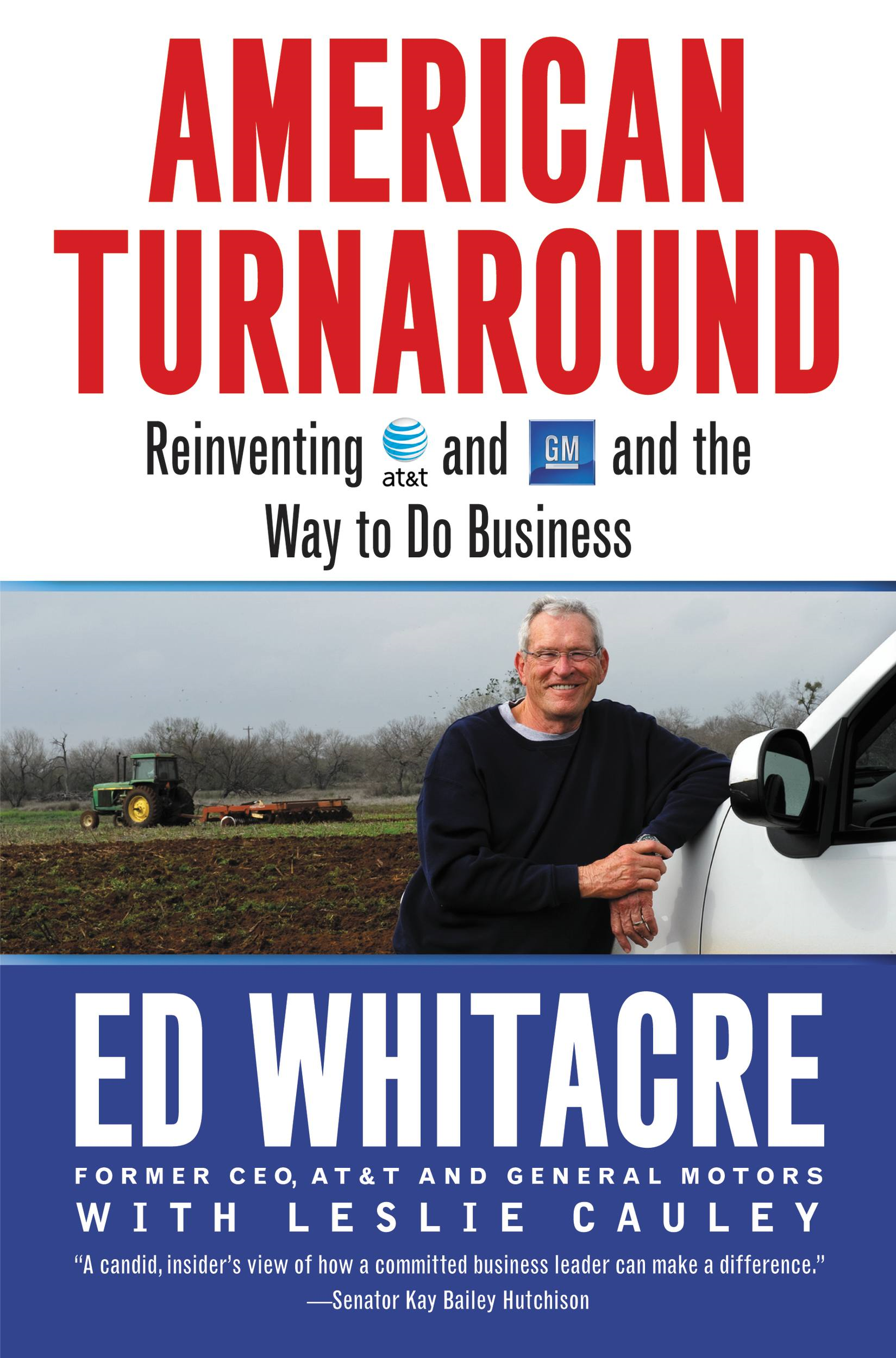 American Turnaround By: Edward Whitacre