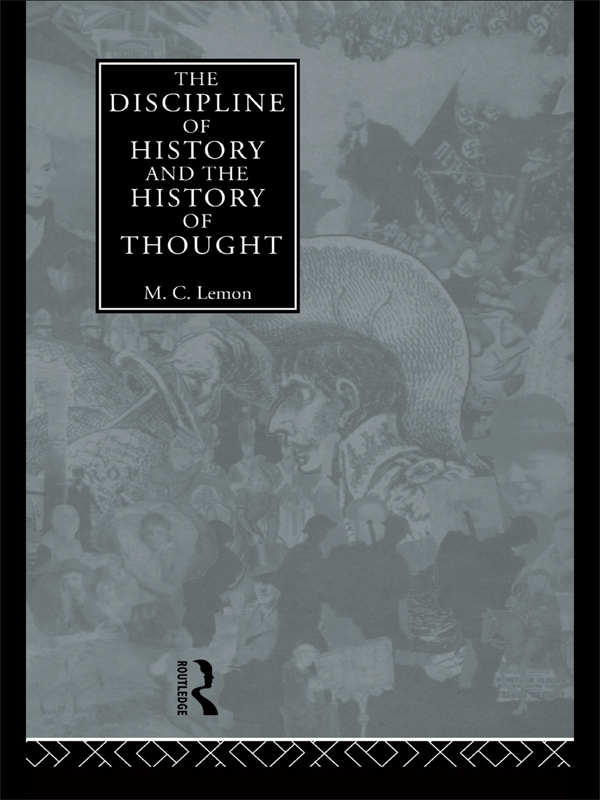 Discipline of History and the History of Thought