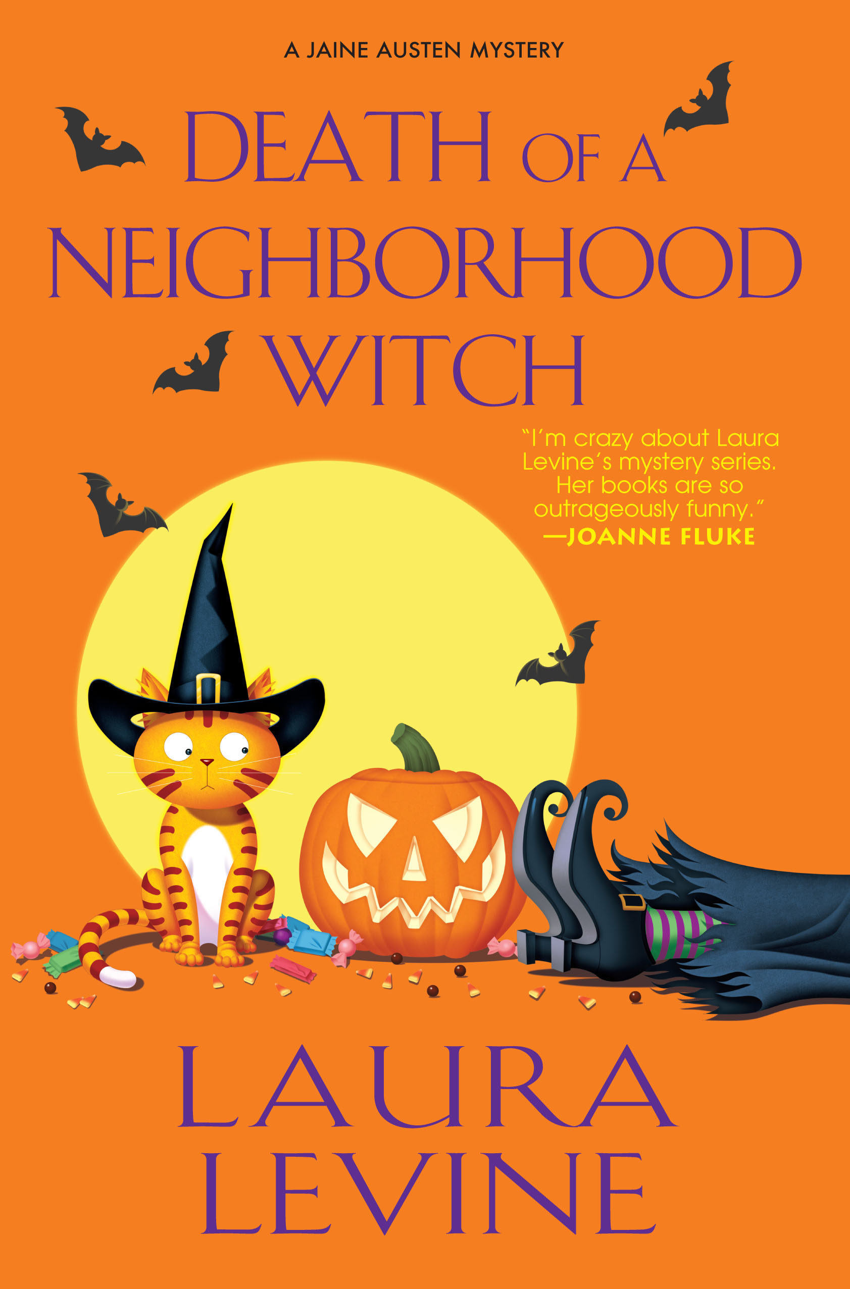 Death of a Neighborhood Witch By: Laura Levine