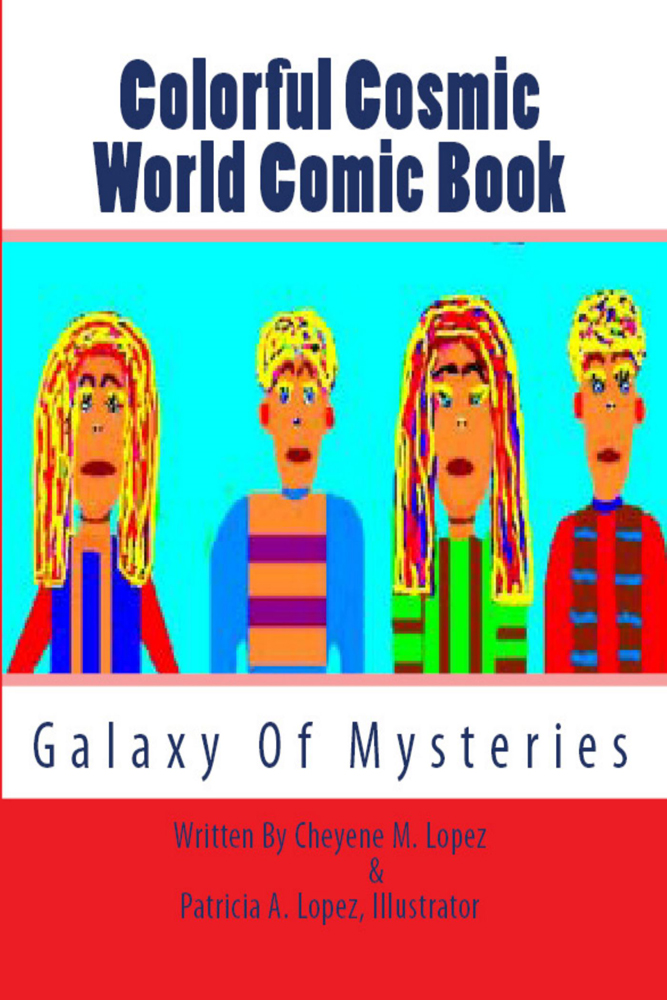 Colorful Cosmic World Comic Book