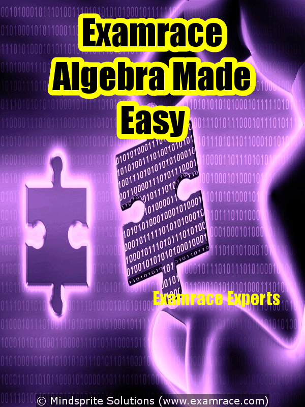 Examrace Algebra Made Easy By: Examrace Experts