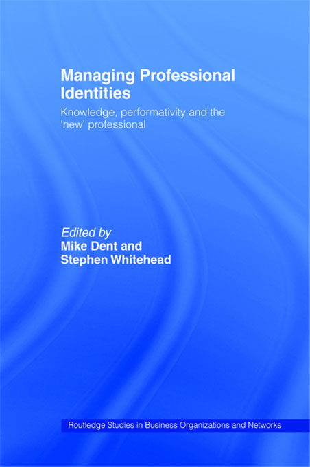 Managing Professional Identities