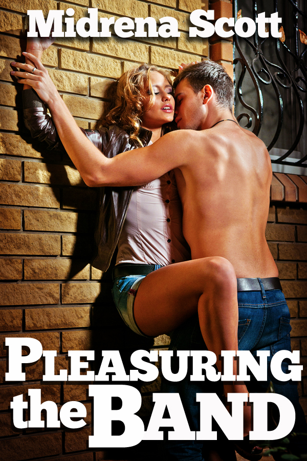 Pleasuring the Band (Groupie Band Fangirl Threesome Erotica)