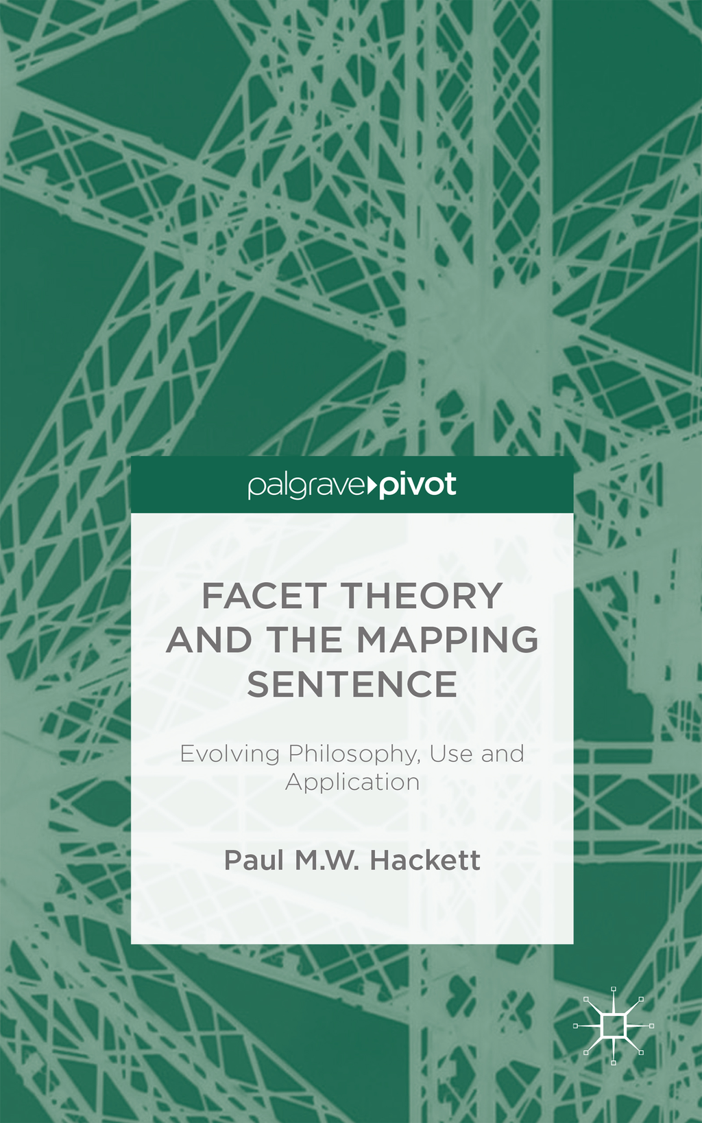 Facet Theory and the Mapping Sentence Evolving Philosophy,  Use and Application