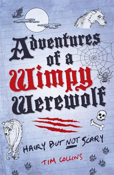 Cover Image: Adventures of a Wimpy Werewolf: Hairy but not Scary