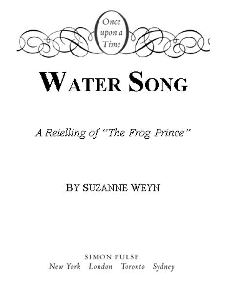 Water Song By: Mahlon F. Craft,Suzanne Weyn