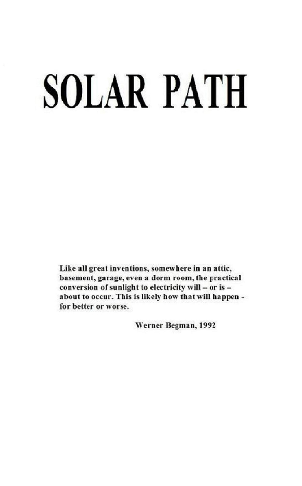 Solar Path By: WerrnerBegman