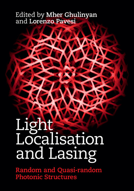 Light Localisation and Lasing Random and Pseudo-random Photonic Structures