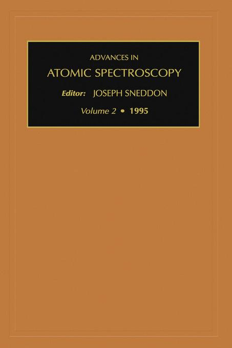 Advances in Atomic Spectroscopy, Volume 2