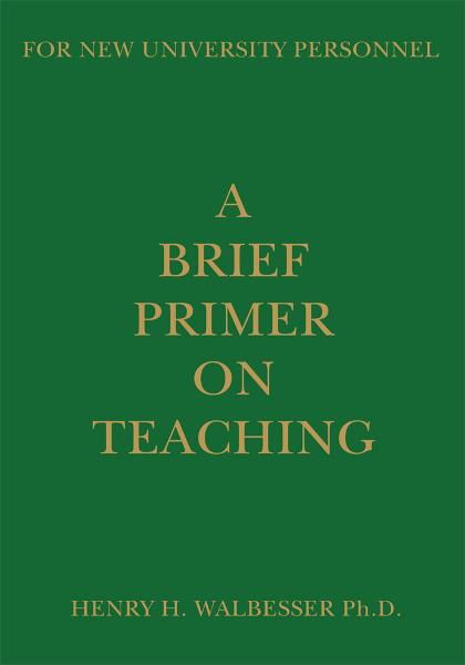 A Brief Primer on Teaching