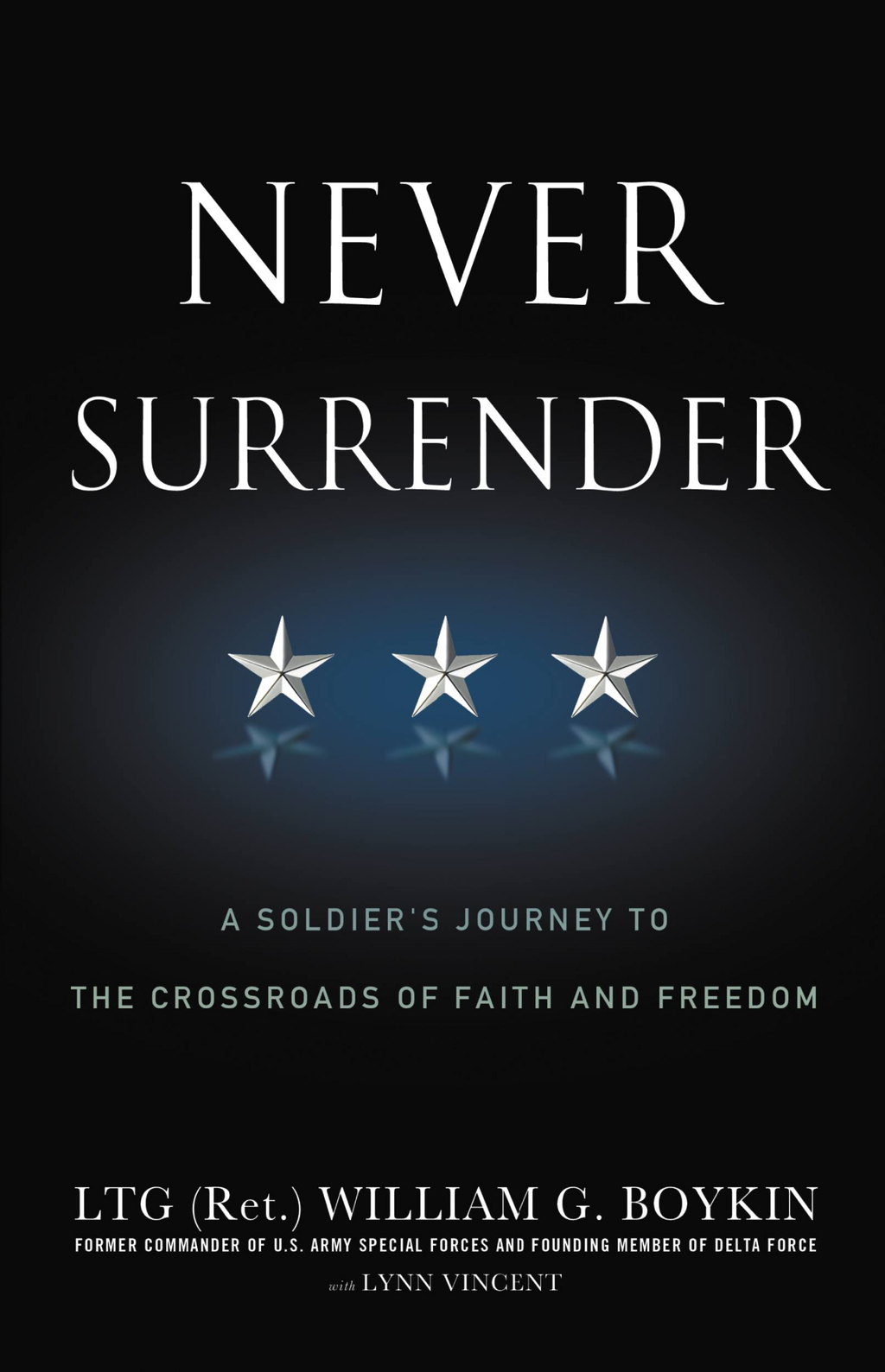 Never Surrender A Soldier's Journey to the Crossroads of Faith and Freedom