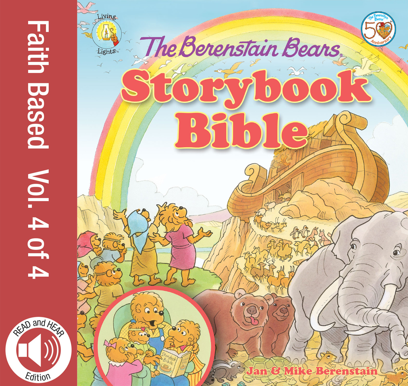 READ and HEAR edition: The Berenstain Bears Storybook Bible, volume 4