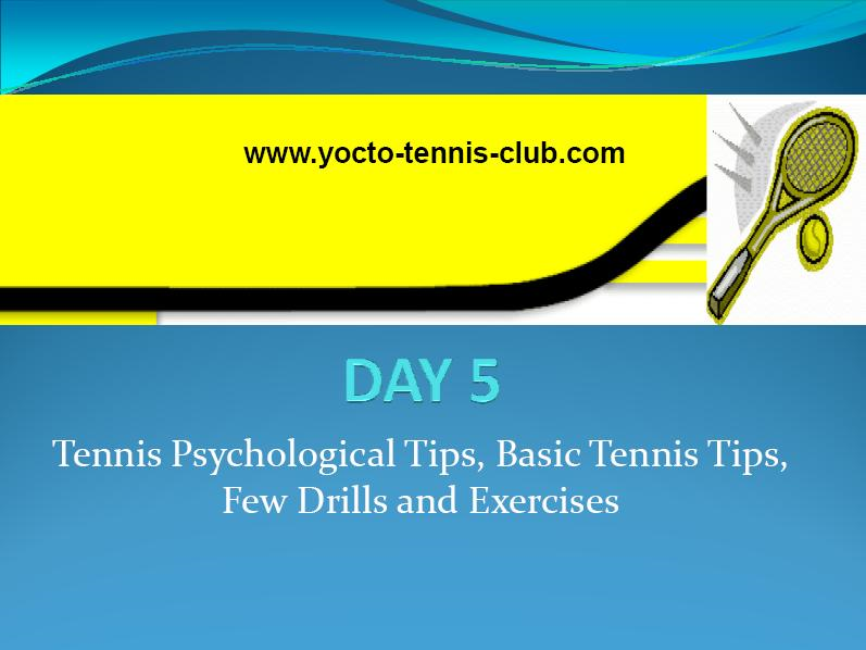 Master in 5 Days (Tennis Coaching Course) : Day 5
