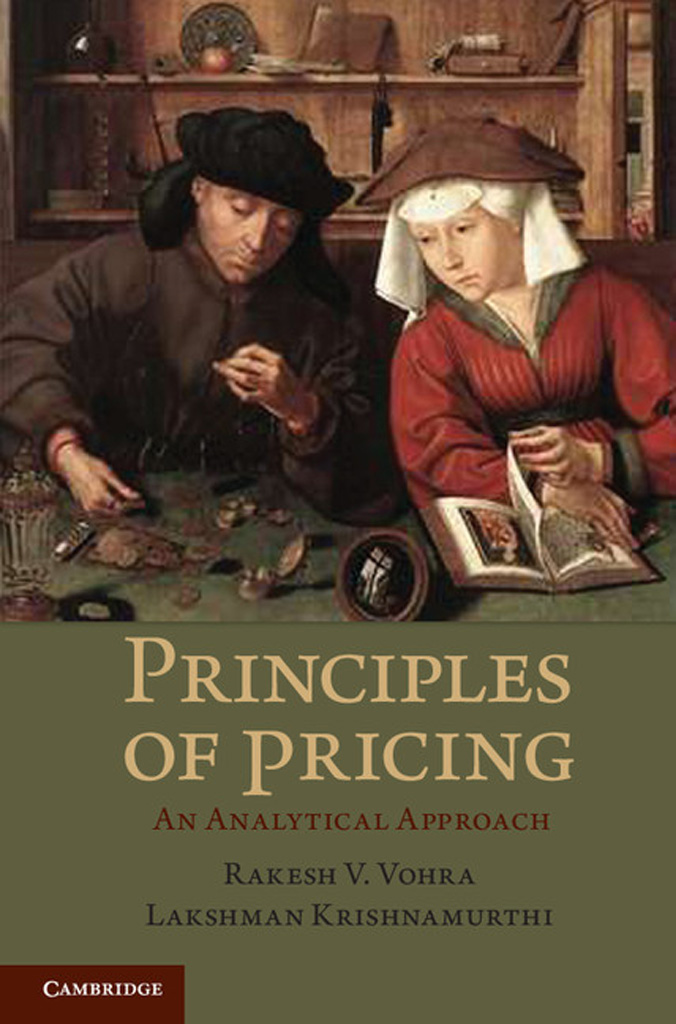 Principles of Pricing An Analytical Approach