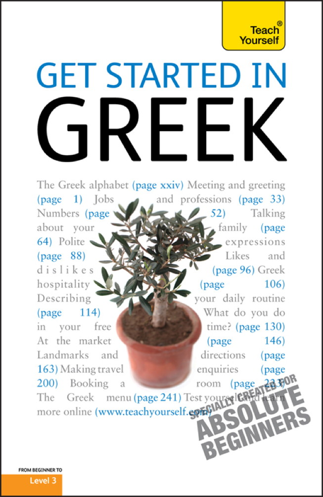 Get Started In Greek: Teach Yourself
