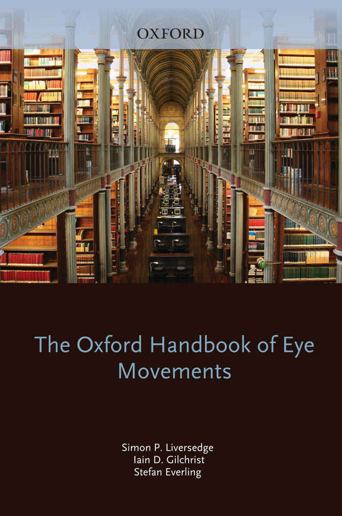 The Oxford Handbook of Eye Movements