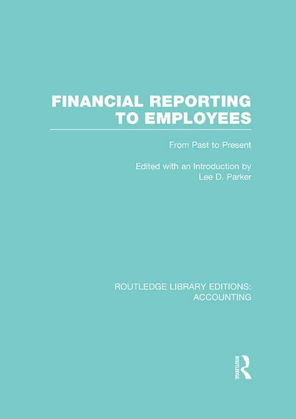 Financial reporting to employees : from past to present From Past to Present