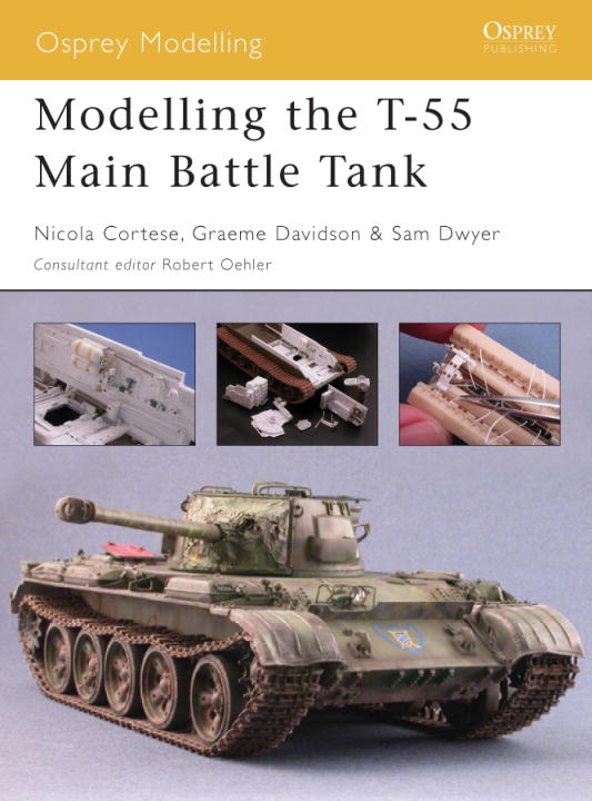 Modelling the T-55 Main Battle Tank