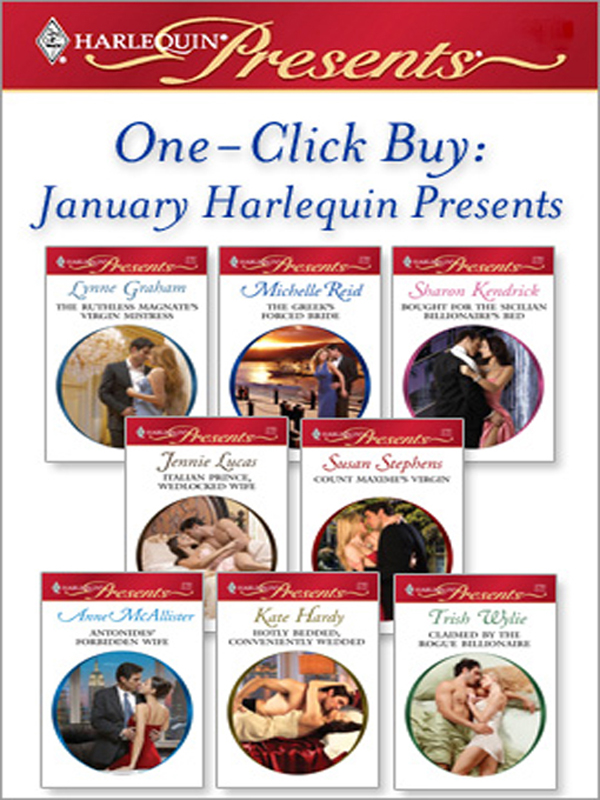 One-Click Buy: January 2009 Harlequin Presents