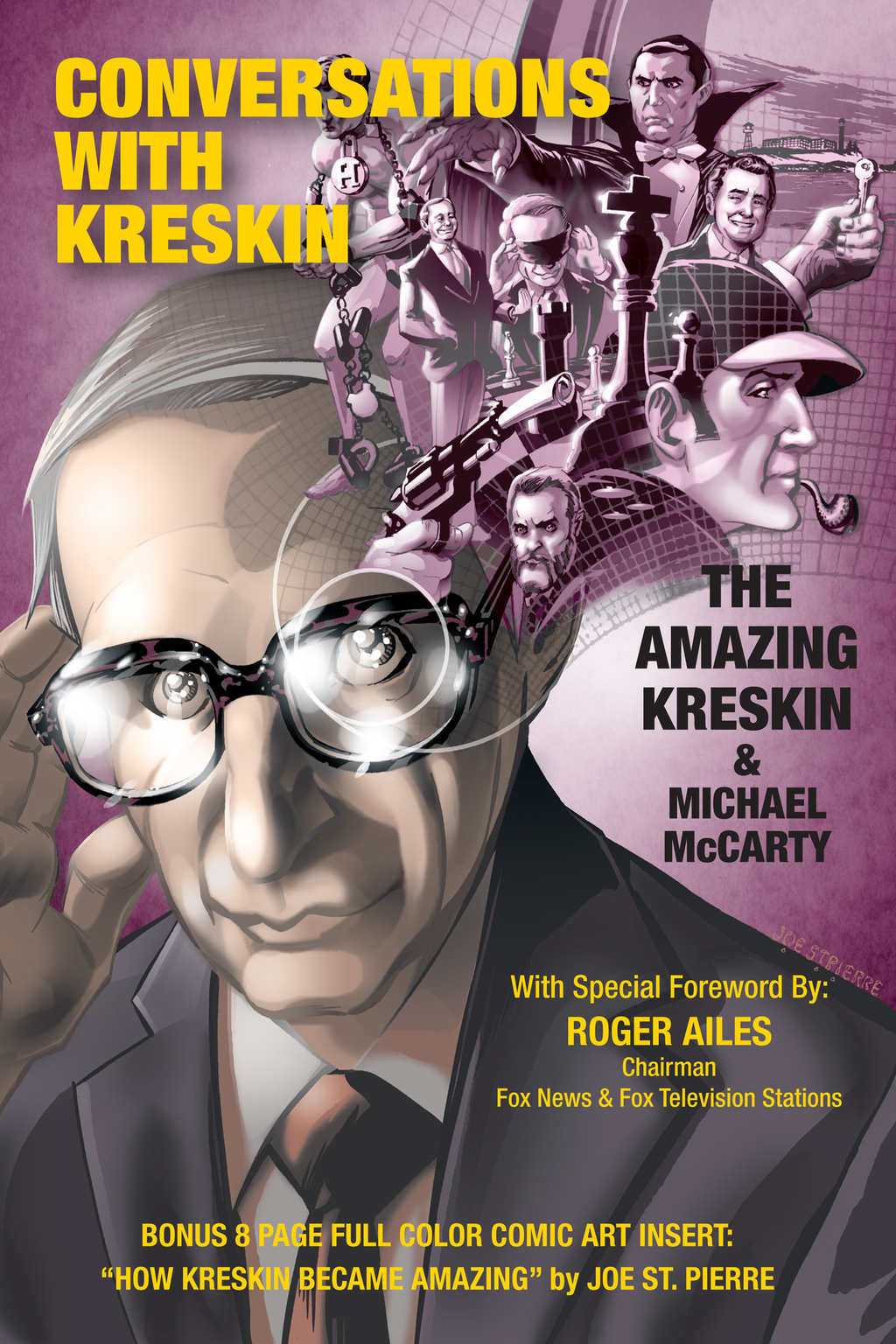 Conversations with Kreskin By: The Amazing Kreskin
