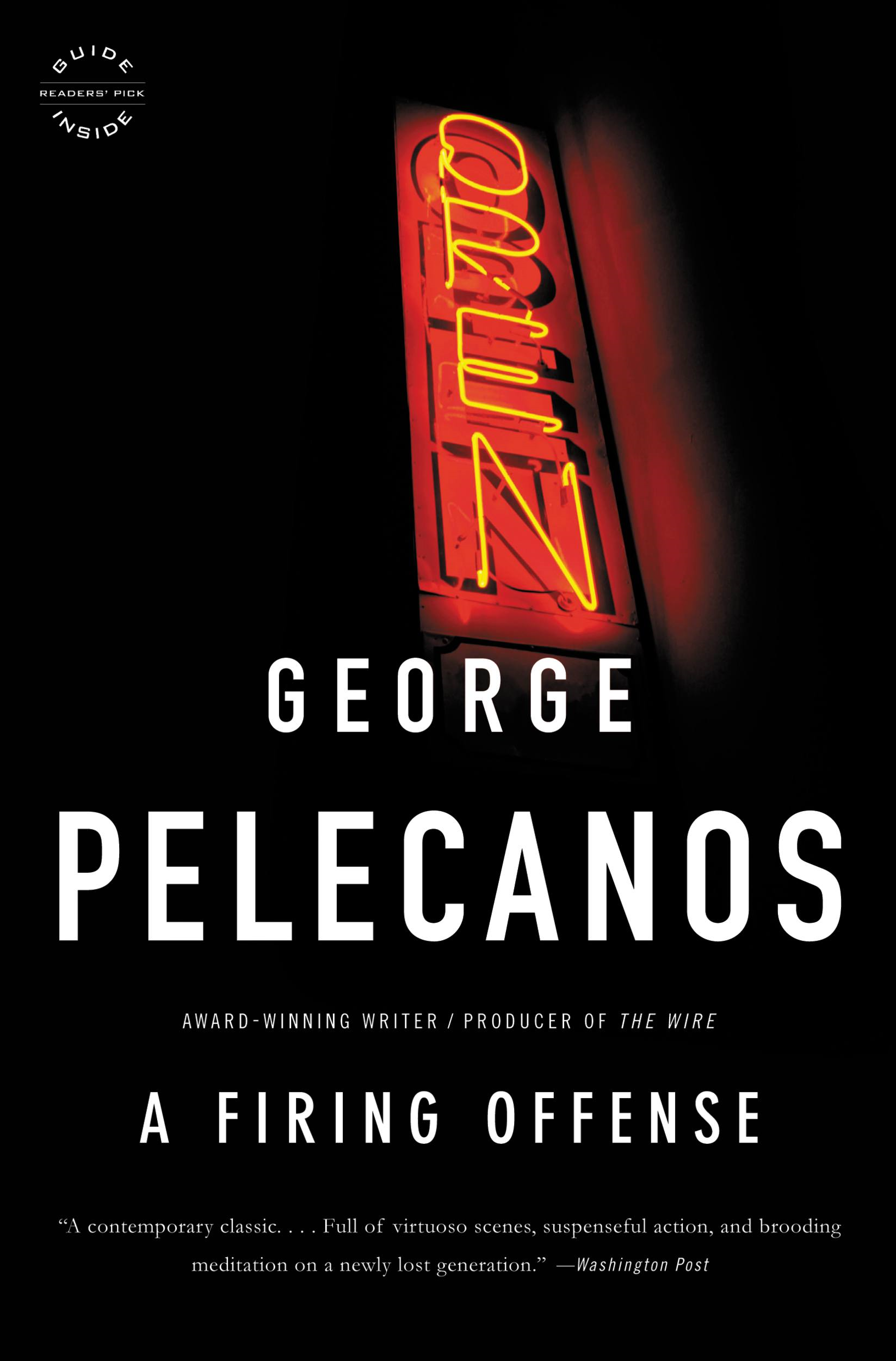 A Firing Offense By: George Pelecanos