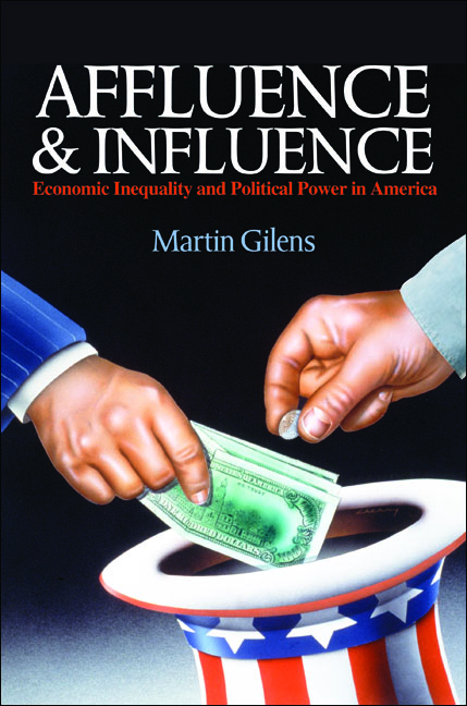 Affluence and Influence Economic Inequality and Political Power in America