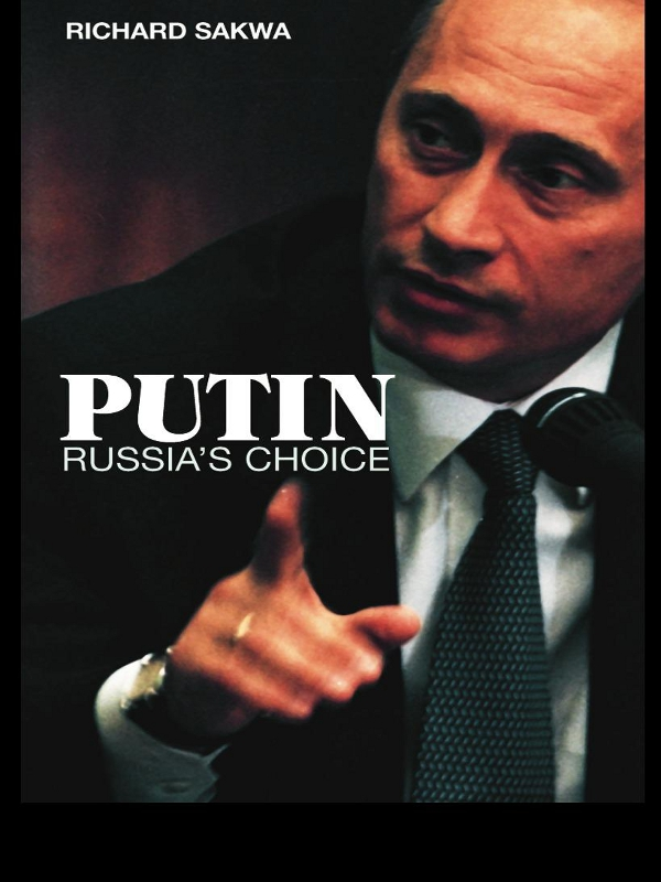 Putin By: Richard Sakwa