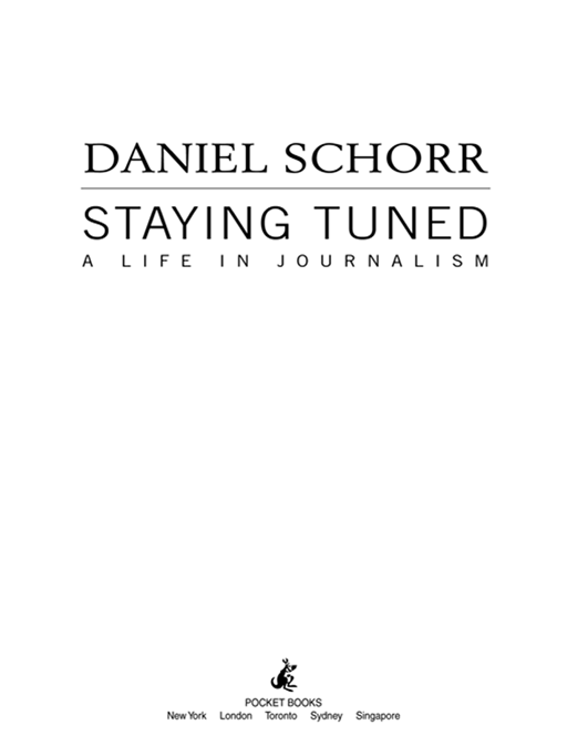 Staying Tuned By: Daniel Schorr