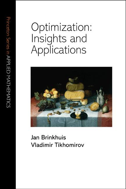 Optimization: Insights and Applications Insights and Applications