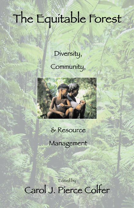 """The Equitable Forest """"Diversity,  Community,  and Resource Management"""""""