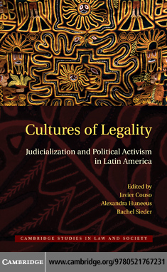 Cultures of Legality By: Couso, Javier