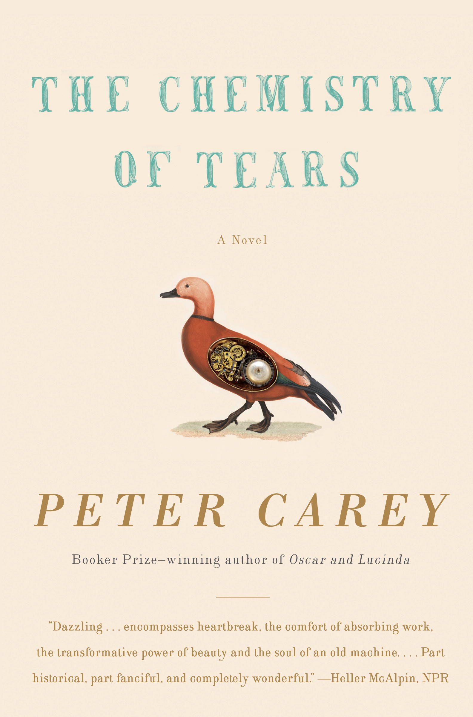 The Chemistry of Tears By: Peter Carey