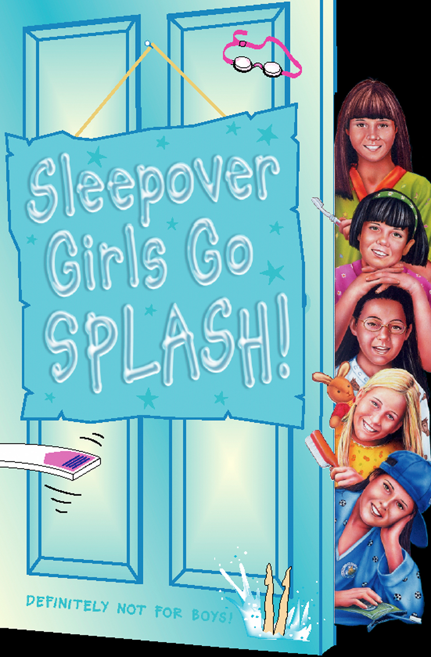 Sleepover Girls Go Splash! (The Sleepover Club,  Book 38)